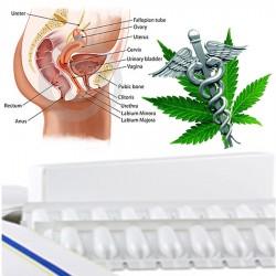 Cibdoca CBD vaginální čípky 500 mg (98% cannabidiol) - sada pro samovýrobu