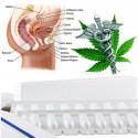 Cibdoca CBD rektální čípky 500 mg (98% cannabidiol) - sada pro samovýrobu